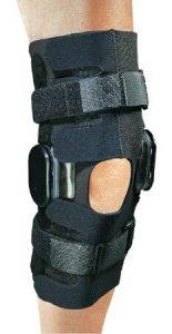 hometown medical equipment knee brace close up image
