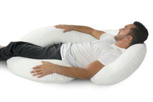 man on body pillow image hometown medical equipment